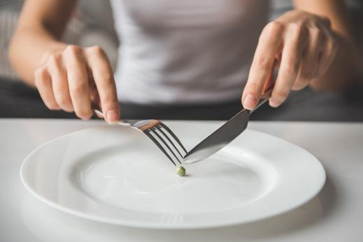 規則正しい食事がとれるようになれば回復が早い